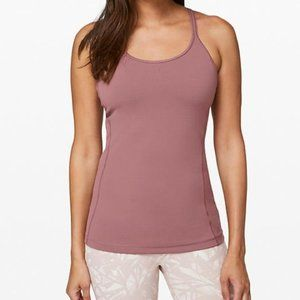 EUC Lululemon Free to Be Tank Red Dust 6